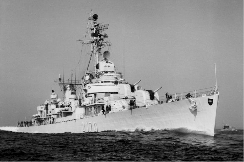 DESTROYERS LANCE-MISSILES CLASSE CHARLES F. ADAMS - Page 2 834912Z1