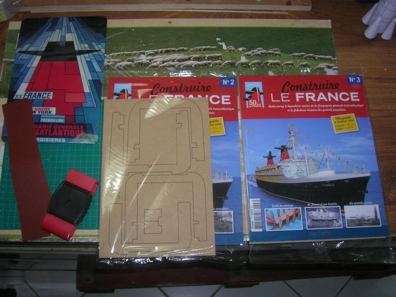 """LE FRANCE  échelle 1/250      Amati/Hachette"""" 845708DSCN1436"""