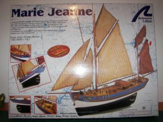 Le Marie Jeanne au 1/50 de chez Artesania latina 854207MARIE_JEANNE