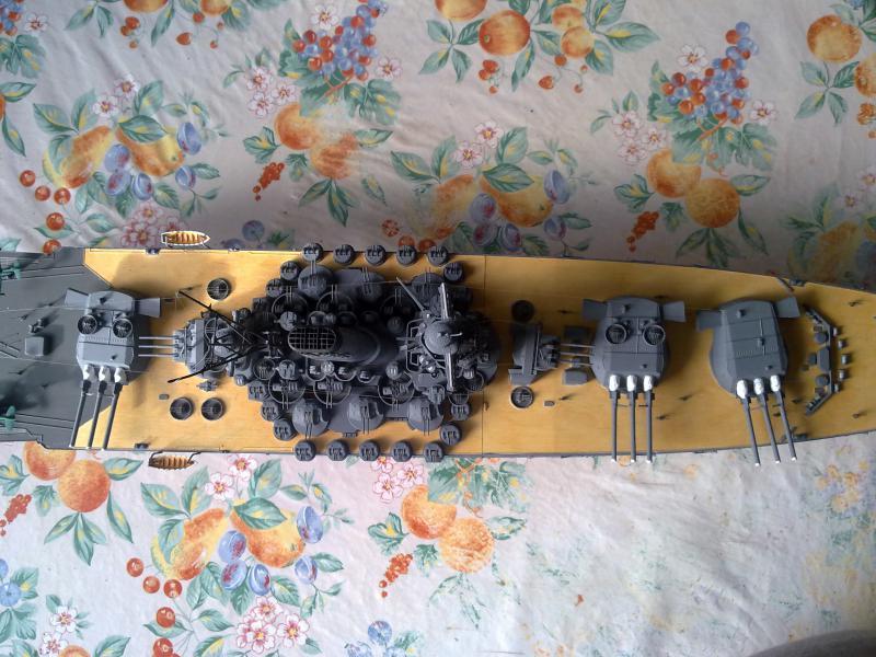Cuirassé Yamato  91215716092010721