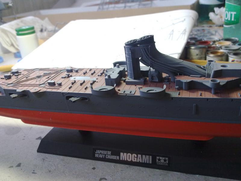 croiseur lourd Mogami au 1/350 par Pascal 94 - Tamiya  - Page 2 92631821102010883