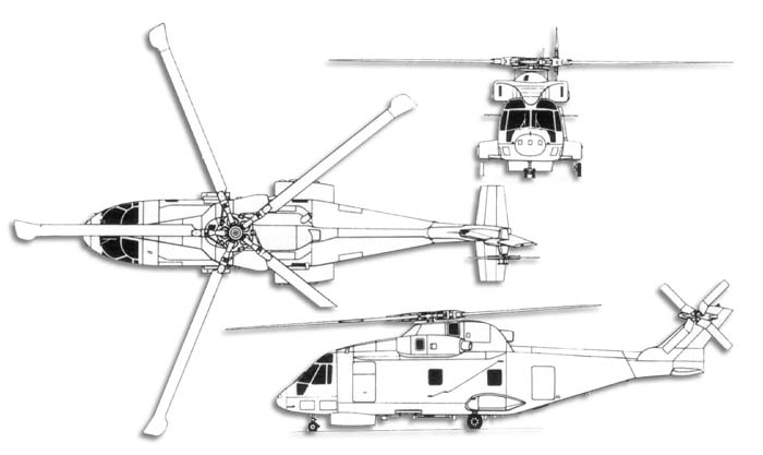 AGUSTA-WESTLAND AW-101 MERLIN 938029AW101