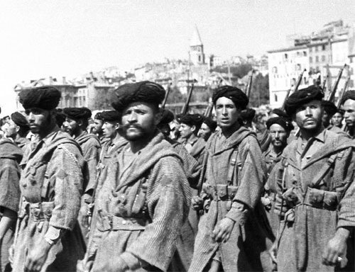 Libération de Marseille(1944) 944283goumie_marocain