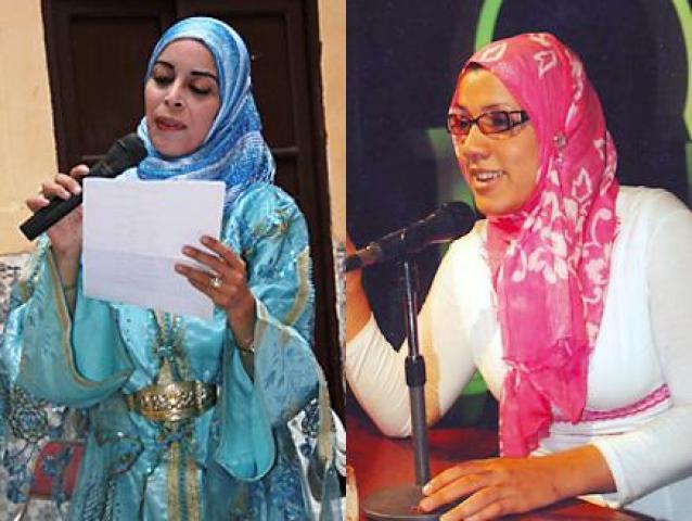 نزاع على ملكية قصيدة بين شاعرتين مغربية وجزائرية 961325436x32893233132811151804803