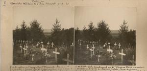 Sépultures dont quelques du 6eme GCC au cimetiere militaire de St Jean d'Ormont, Vosges Mini_181192Launois6