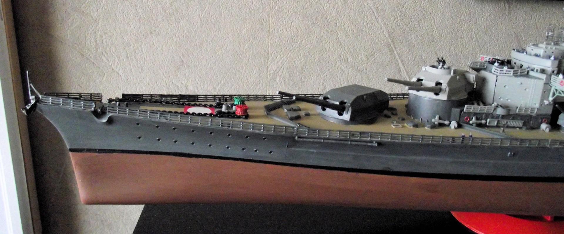 Tirpitz Revell au 1/350° 112067TipitzRevell1x3508