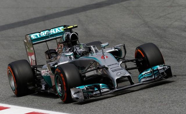 F1 GP d'Espagne 2014 : (essais libres-1-2-3-Qualifications) 1120742014Rosberg