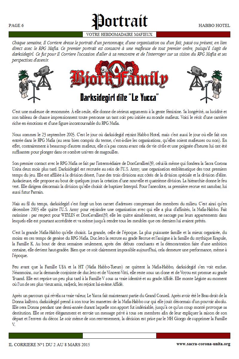 Il Corriere N°1 du 2 au 8 mars 2015 112373Portrait1
