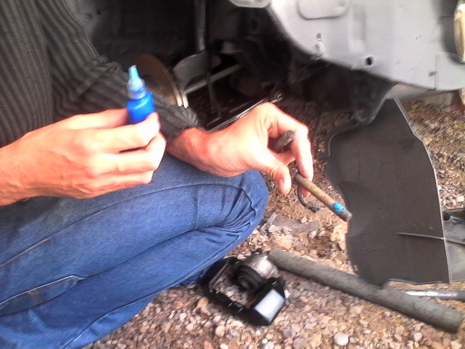 montage disques et plaquettes de freins + durites de freins 112983lulu4012