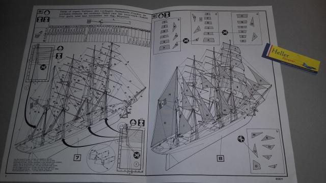 Clipper BELLE ETOILE 1/250ème Réf 80611 Notice 11303720161105162128
