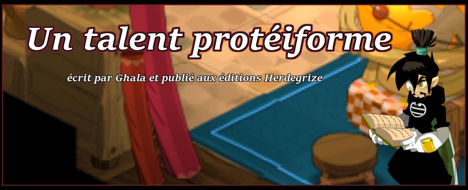Un talent protéiforme [ouvrage autobiographique] 114001couv