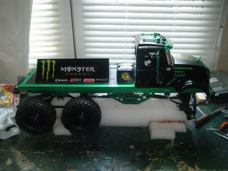 Mack 6x4 Monster Energy (FINI en attente d'un arceau) 114152DSCF3080