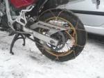 Chaines à neige pour motos 114329734