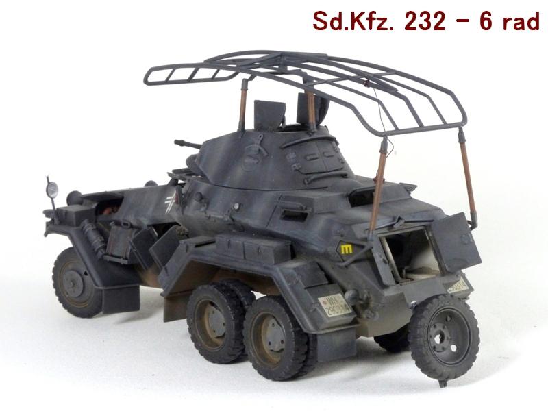 Sd.Kfz. 232 6 Rad - France 1940 - Italeri 1/35 115155P1040086