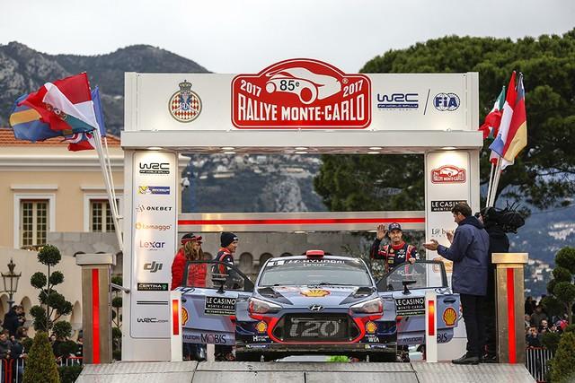 Rallye Monte Carlo Une Victoire En Power Stage pour Consoler Hyundai Motorsport  1187652017MONTECARLOSV241