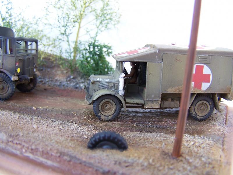 AEC Matador et Ambulance Austin K2 119722MatadorAustinK2019