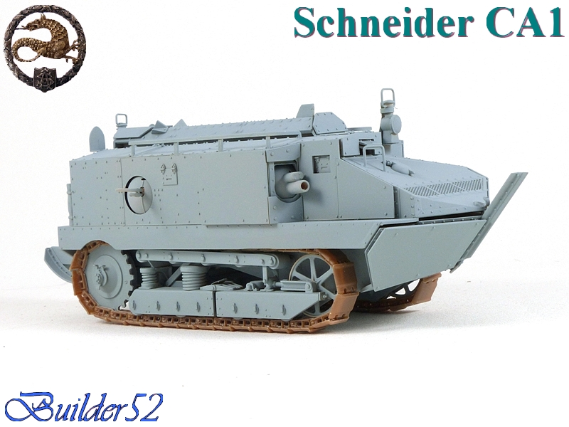 CHAR SCHNEIDER CA 1 - HOBBY BOSS 1/35 121216P1040936