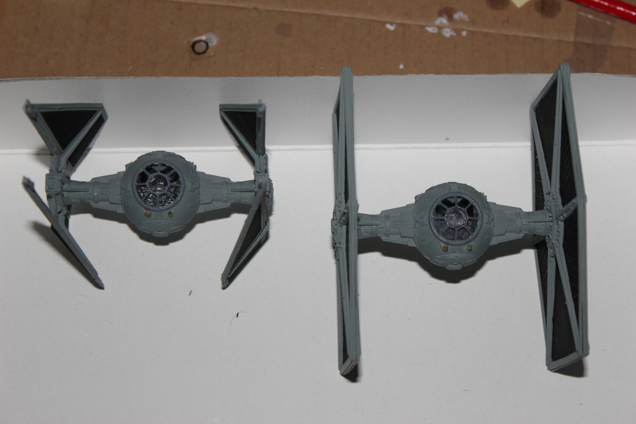 Star Wars [Tie Fighter] Fine Molds 1 : 72 122849DPP2025