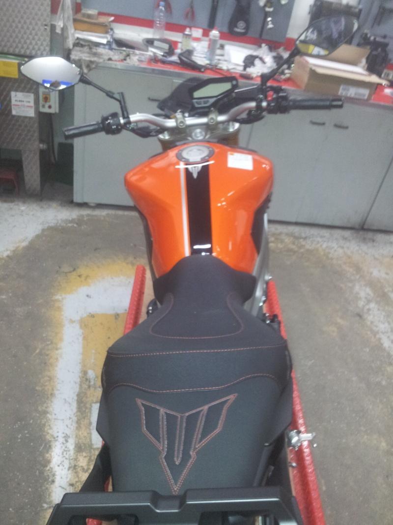 Photos de toutes les Yamaha MT-09 du forum ! :) 123304Charnay119