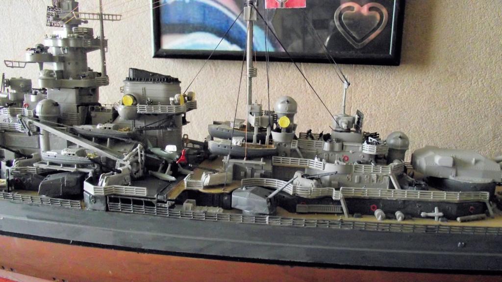 Tirpitz Revell au 1/350° 123880TipitzRevell1x35010