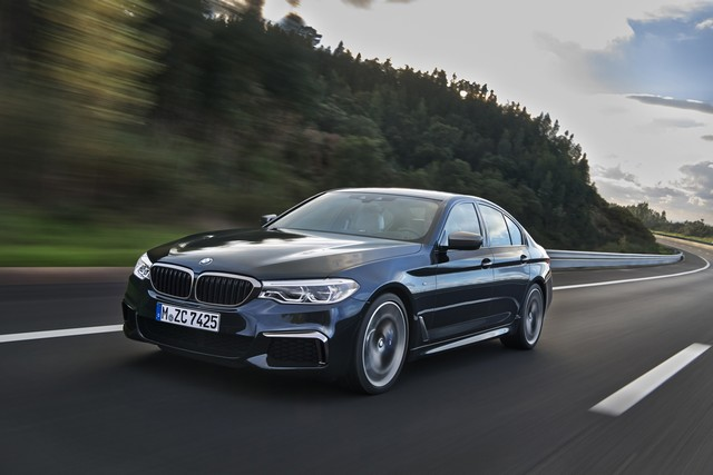 BMW Group au salon de Detroit NAIAS 2017 124655P90244793highResthenewbmwm550ixd