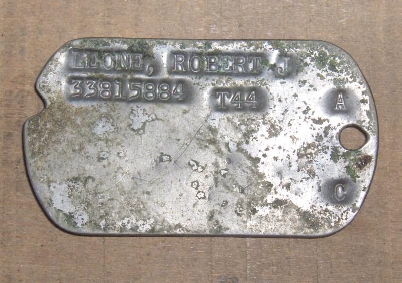 Les Dog Tag U.S. WWII 124733008