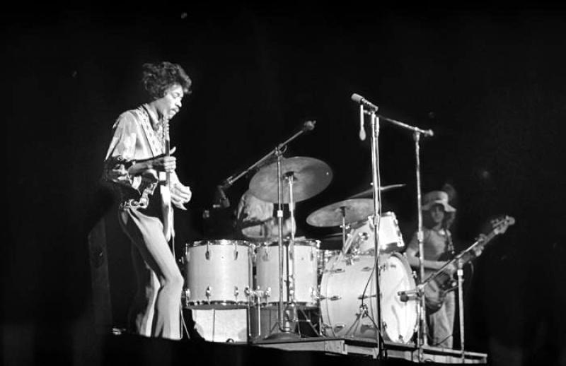 Oakland (Oakland Coliseum) : 13 septembre 1968  12481819680913Oakland03