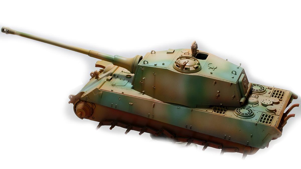 King Tiger  TAMIYA 1/35 126171KTigerwb05