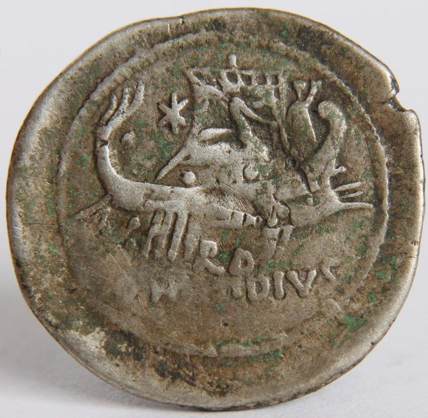 Denier de Sextus Pompée 126719revers