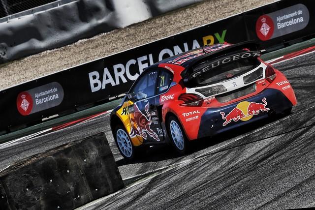 Le Team Peugeot Hansen creuse l'écart à Barcelone 1269732015RXBarcelona151
