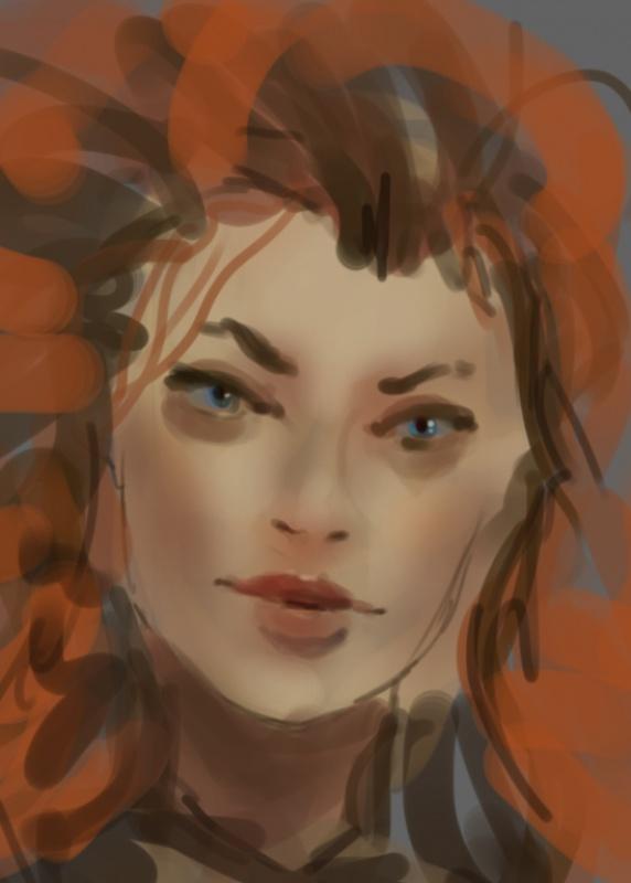 Blop is painting - LE RETOUR SANS CONCESSIONS 128111sketch28