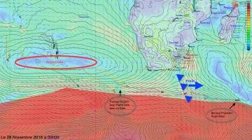 L'Everest des Mers le Vendée Globe 2016 - Page 5 128636analysemeteole28november2016r360360