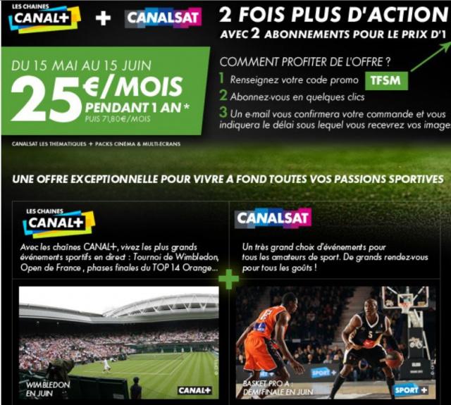 super promo canal/csat France 130011Csat