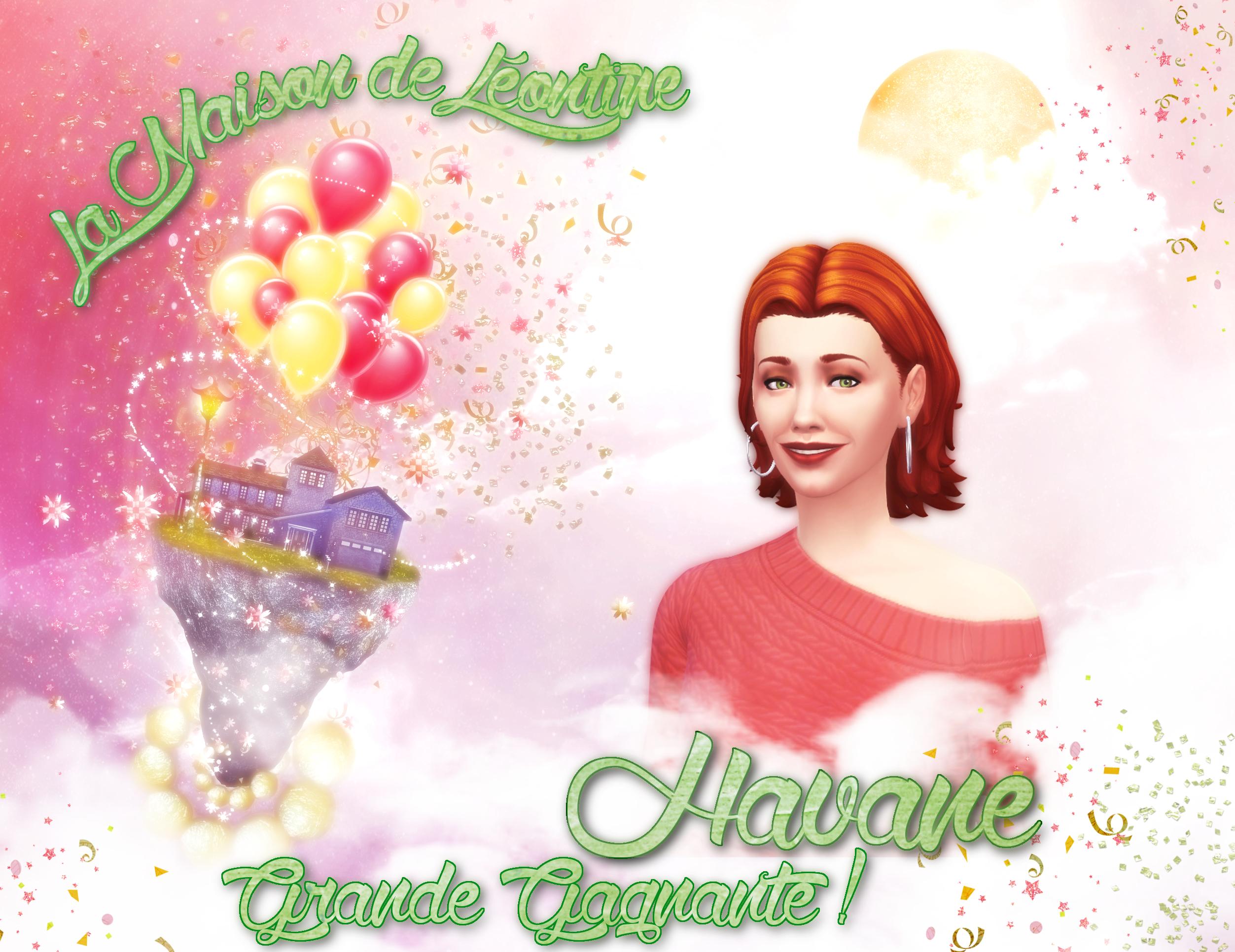 """Résultats du concours """"La maison de Léontine"""" 133461leontineHavane"""