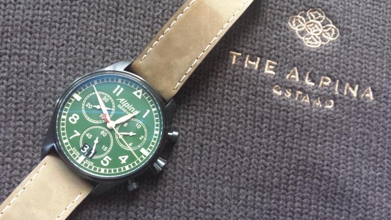 Alpina - ALPINA Startimer Pilot Big Date Chronograph Military  13370720141231125128