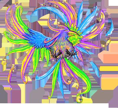 Dragons, chimères et créatures arc-en-ciel 133976Colibriuscopie