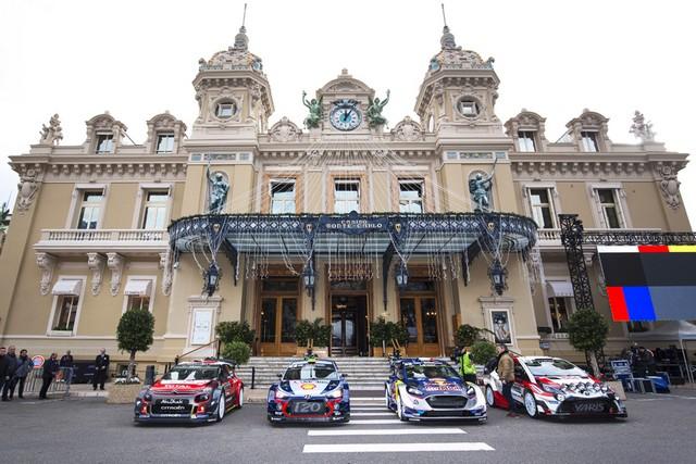 Rallye Monte Carlo Une Victoire En Power Stage pour Consoler Hyundai Motorsport  1343402017MONTECARLOHEM132