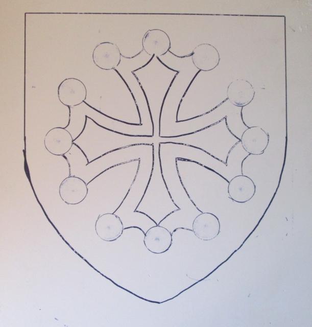 Sculpture sur carreaux de platre ( Croix Occitane ) 1349541166