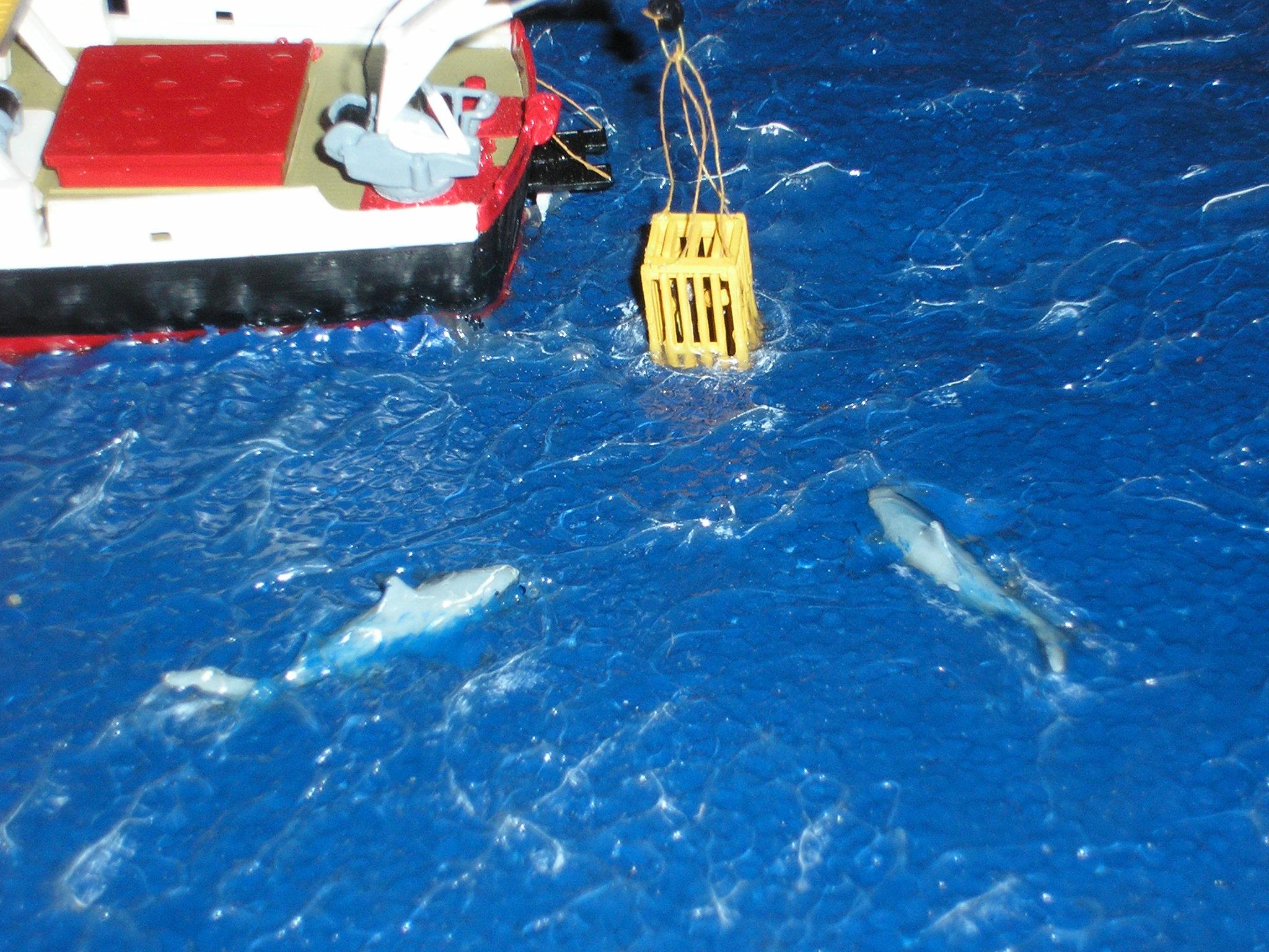 Dio : La Calipso en expédition sur les requins (Revell 1/125°) par yann 136091PA180008