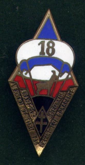 Quelques insignes du 18° 138739File0042