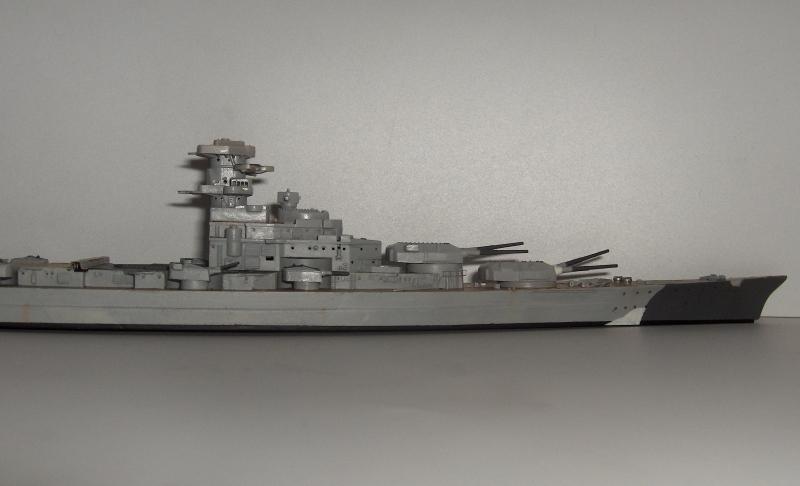 Bismarck 1/700 [Trumpeter] 138771HPIM1995