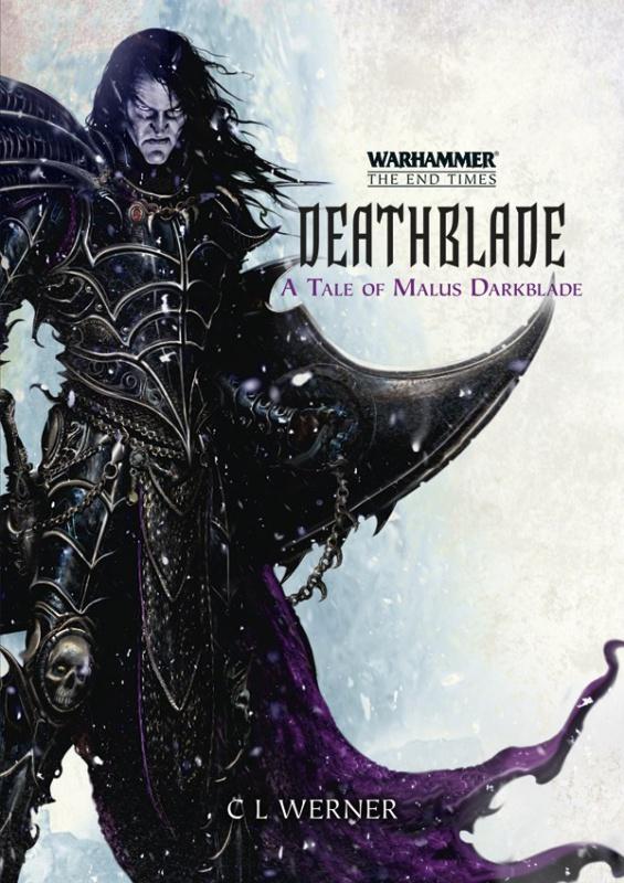 Malus Darkblade: Deathblade de C L Werner 139469DeathbladeA5HBcover