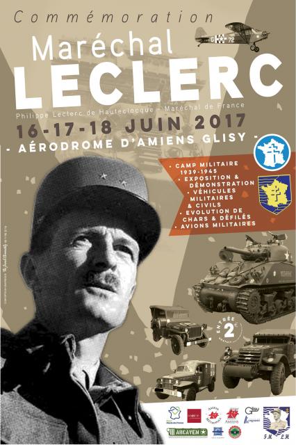 C ce week sur Amiens 16-17-18 Juin  Amiens 140098MarchalLeclercaveclogofondation