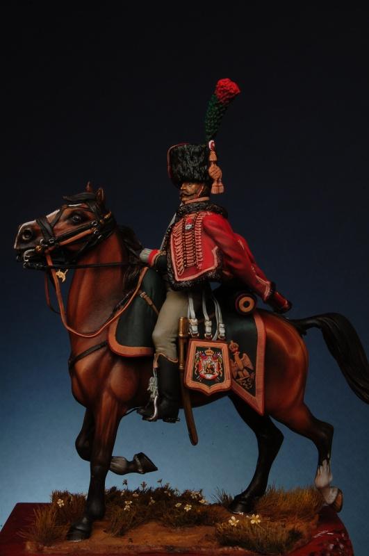 Chasseur a cheval GI - le travail de le vacance 140282coco0206