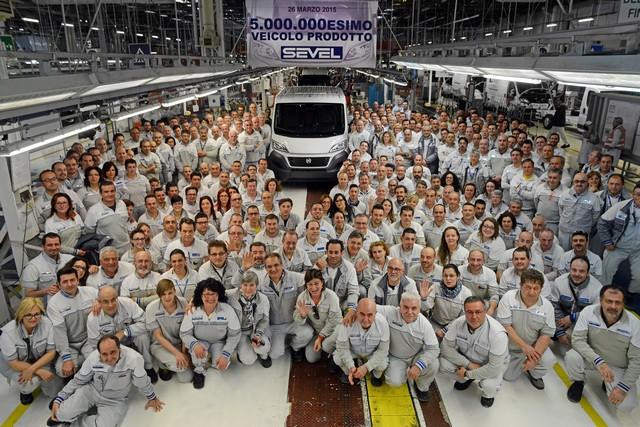 Nouveau record de production pour l'usine Sevel grâce au Fiat Ducato 140610150326FiatProfessionalDucatorecord01