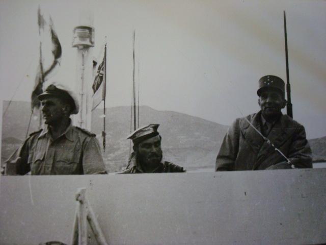 Le Bataillon de Choc 1943/1963. Photos. 140667DeLattretransportparlesAnglais