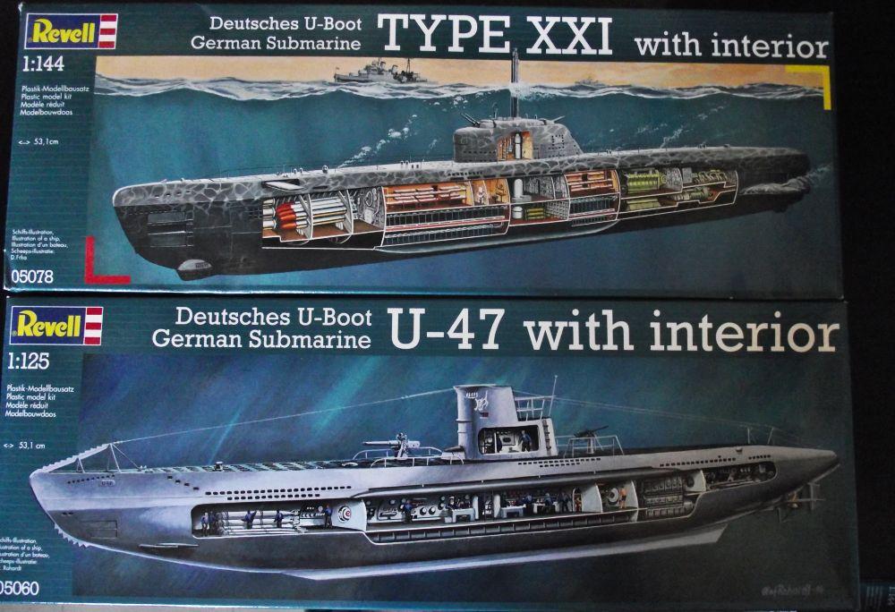 UBoot type VII Revell au 1/144 141925UBootVIIXXI2