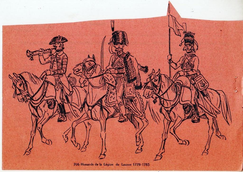 les hussards sous l'Ancien Régime 143214scan46