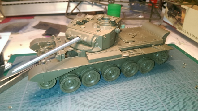 A 27 CROMWELL Mk IV Tamiya 1/35 et A34 COMET BRONCO 1/35 144134IMAG2263