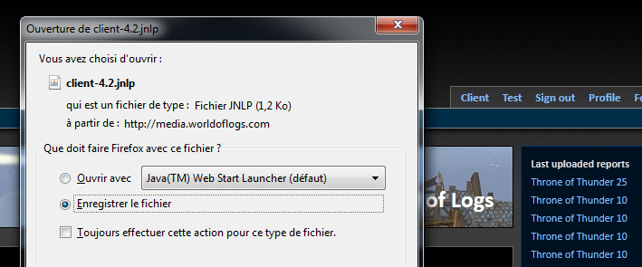 How to ... world of log : Première partie 144453tuto7